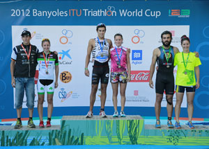 Brais Canosa and Eva Ledesma, winners of the qualifying for the Spanish Triathlon Championship