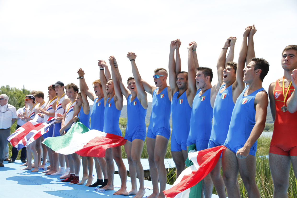 Landslide victory for Italy at the 17th Rowing Coupe de la Jeunesse