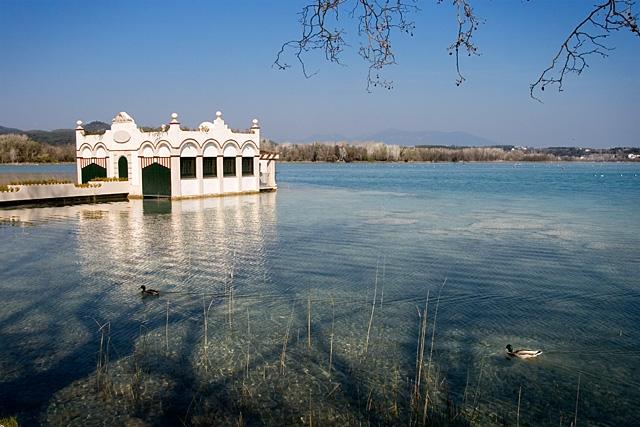 L'estany de Banyoles comença a preparar-se per a la Copa d'Europa de Triatló