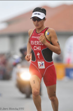 Barbara Riveros Diaz continues great start to 2011 with win in Ishigaki